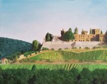 Castello di Brolio – 16″ x 20″ Oil on Canvas