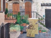 Chianti Villa – 12″ x 16″ Oil on Panel