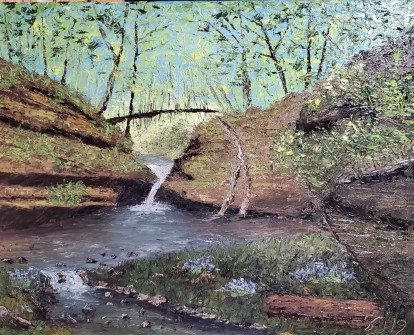 Hennepin Canyon – 16″ x 20″ Oil on Canvas