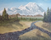 Denali – 16″ x 20″ Oil on Canvas