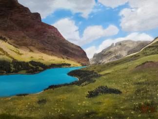 Cracker Lake – 12″ x 16″ Oil on Panel